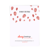 To The Bedroom And Back - Dirty Card - Naughty Adult Greeting Card - Sleazy Greetings