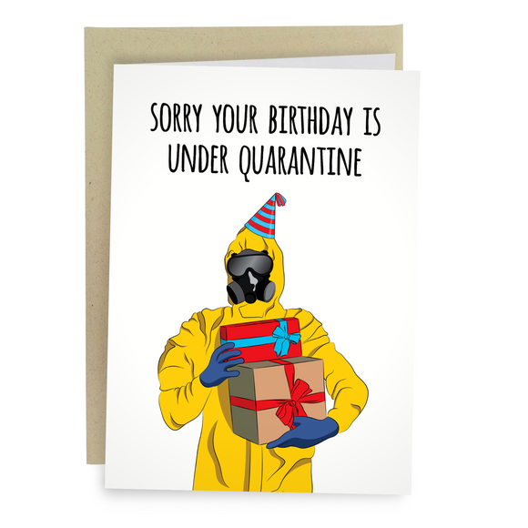 Birthday Under Quarantine