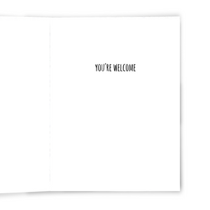 I Hate People - Dirty Card - Naughty Adult Greeting Card - Sleazy Greetings