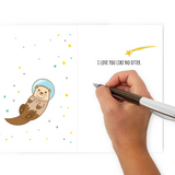 Otter This World - Dirty Card - Naughty Adult Greeting Card - Sleazy Greetings