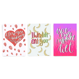 Love Pack, 3 Card Bundle - Dirty Card - Naughty Adult Greeting Card - Sleazy Greetings