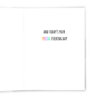 Magical Piece of Shit - Dirty Card - Naughty Adult Greeting Card - Sleazy Greetings