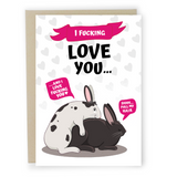 Pull My Hair - Dirty Card - Naughty Adult Greeting Card - Sleazy Greetings