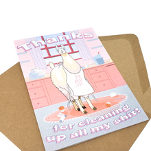 Mamma Llama - Dirty Card - Naughty Adult Greeting Card - Sleazy Greetings