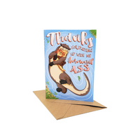 Hormonal Ass - Dirty Card - Naughty Adult Greeting Card - Sleazy Greetings