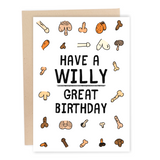 funny penis birthday card