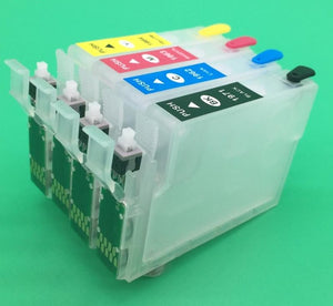 T1971 T1962-T1964 Refillable Cartridge With Reset Button Chip