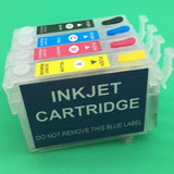 Refillable Cartridge With Chip For Epson Stylus T25 TX125 TX133 TX135 Inkjet Printer