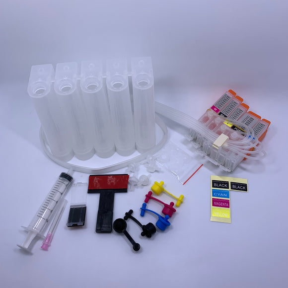5 Color CISS ink cartridge PGI-150 CLI-151 for Canon PIXMA MG7110 MG5510 iP8710 IX6810 MG7510 MG6610 MG5610 IP7210 MG5410