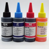 4 x 100ml Refill Ink Kit For Canon and HP Inkjet Printers