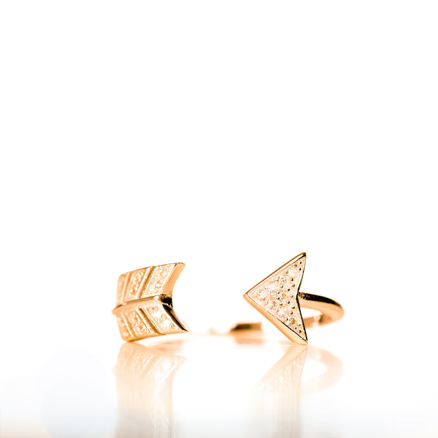 Arrow Rose Gold Ring