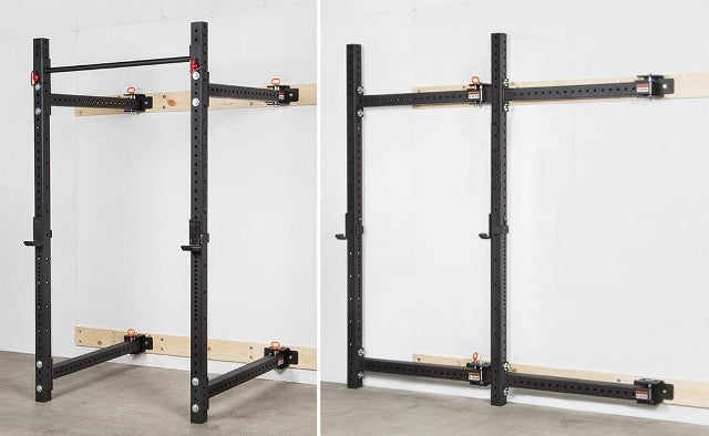 Wall Mounted Fold Away Squat Rack