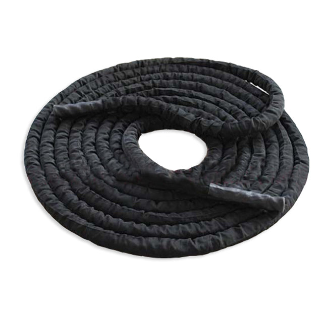 Black Colour Casing Gym Rope (2inch - 50ft)