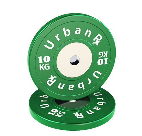 URX SUPERIOR OLYMPIC BUMPER PLATE PAIR (10KG)