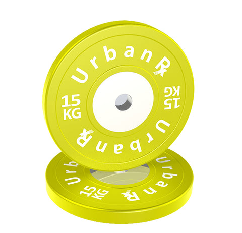 URX SUPERIOR OLYMPIC BUMPER PLATE PAIR (15KG)