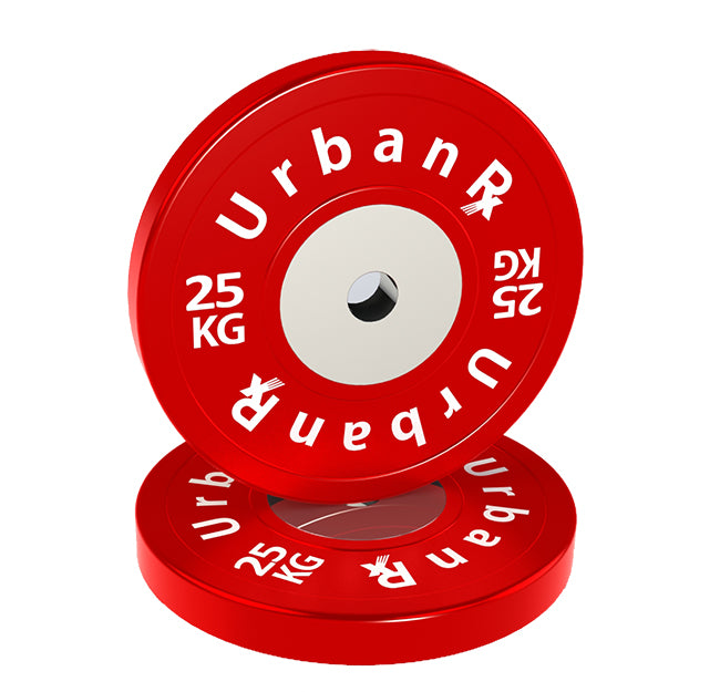 URX SUPERIOR OLYMPIC BUMPER PLATE PAIR (25KG)