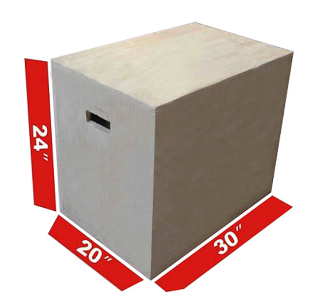 Wooden Plyo Box 3in1