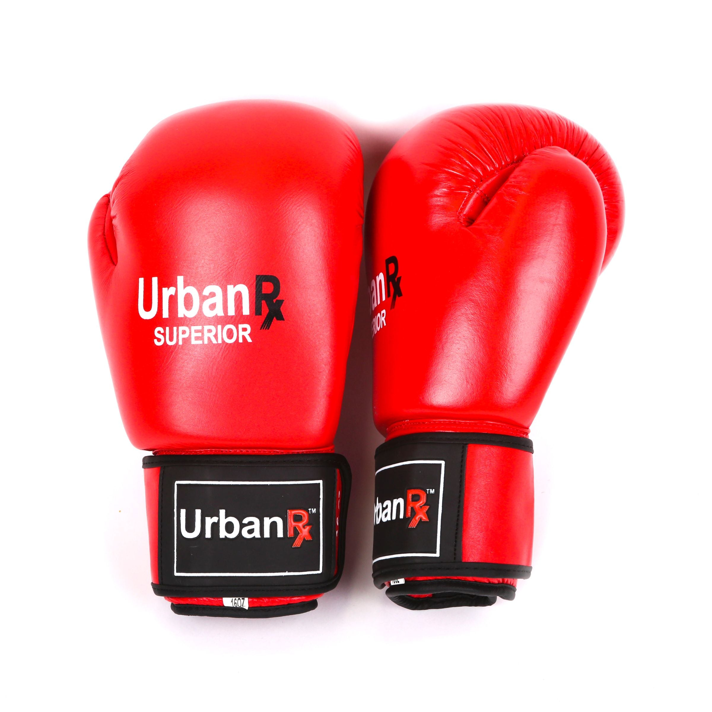 Urban Red Superior Boxing Gloves