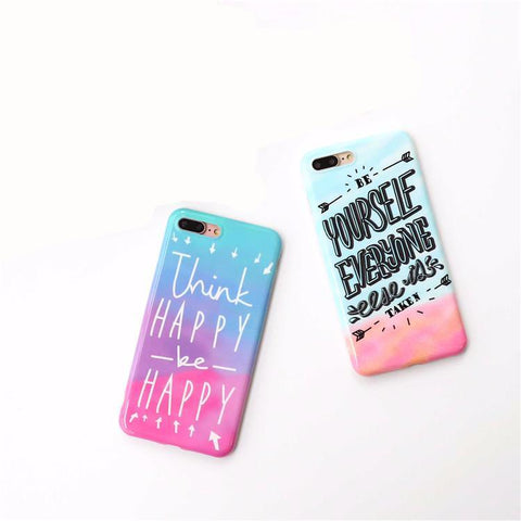 Make your phone your MOTIVATION: Silicon Phone Case