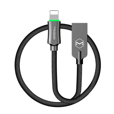 Auto Disconnect Fast Charging Cable w/ LED Light