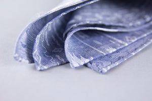 """SOUTHWEST LUX"" DENIM POCKET SQUARE"