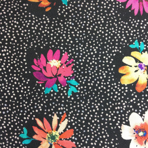 """DOTTY FLOWERS"" DIGITAL PRINT POCKET SQUARE"