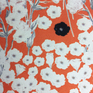 """FIELDS OF POPPY"" DIGITAL PRINT POCKET SQUARE"