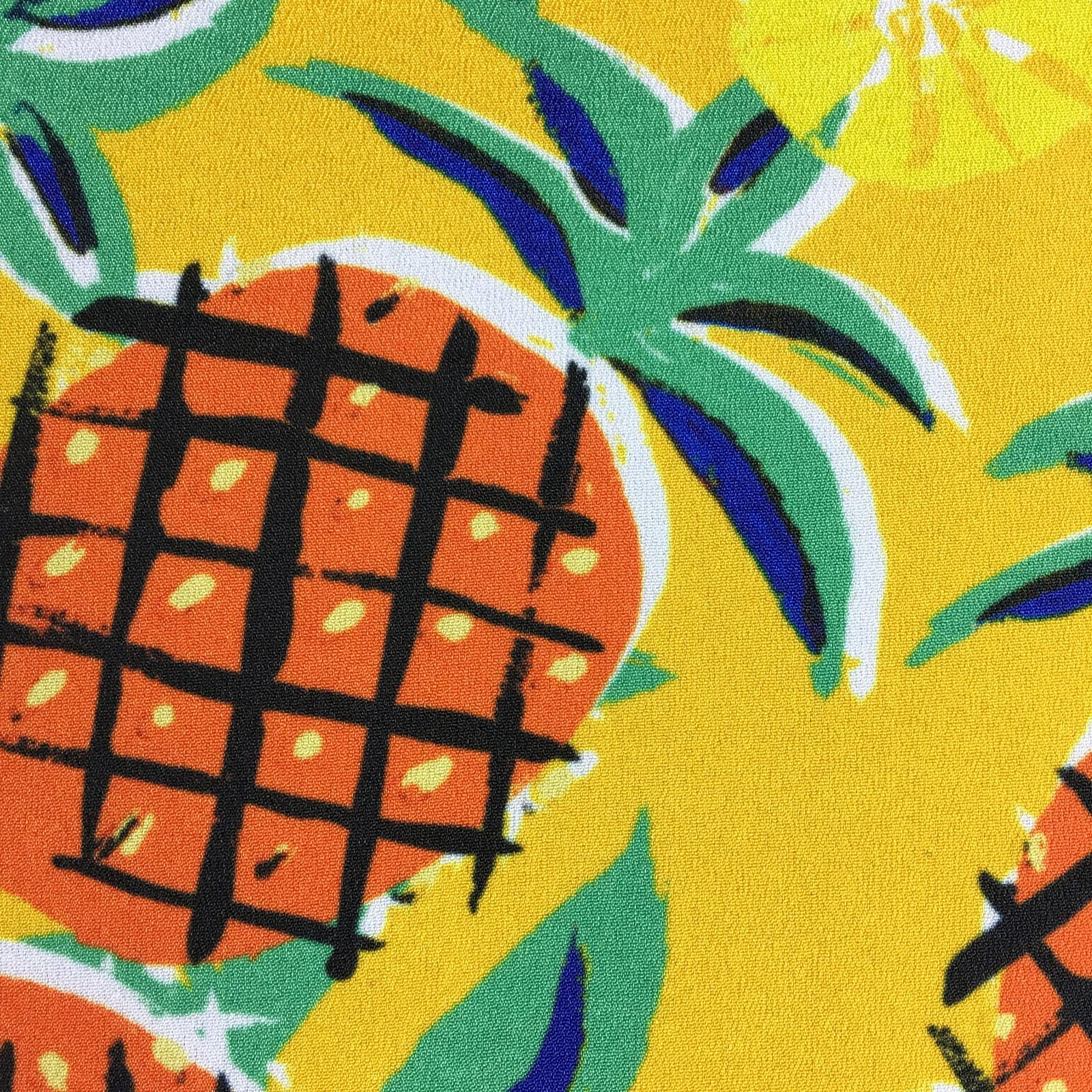 """PINEAPPLE AHOY"" DIGITAL PRINT POCKET SQUARE"
