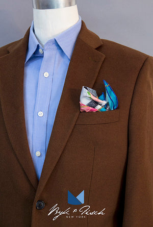 """ALL CLASS"" DIGITAL PRINT POCKET SQUARE"