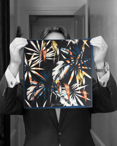 """URBAN JUNGLE"" DIGITAL PRINT POCKET SQUARE"