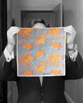 """OCTOPUS PLAY"" DIGITAL PRINT POCKET SQUARE"
