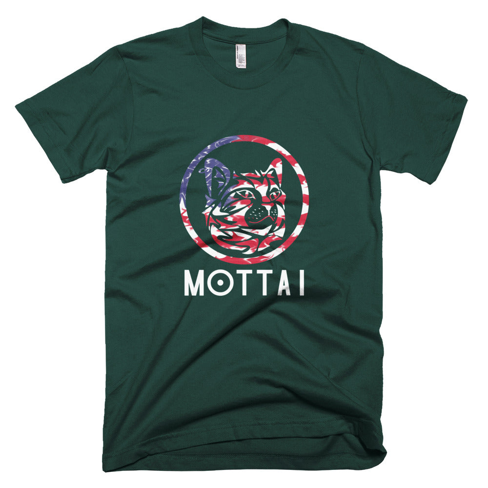 MOTTAI Surf Maurice T-Shirt USA colors