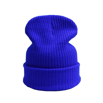 blue beanie hat for snowboarding