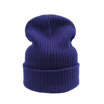 navy blue beanie for casual or dresswear