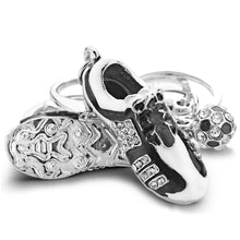 Footballers Keyring Gold Or Silver - Aces23
