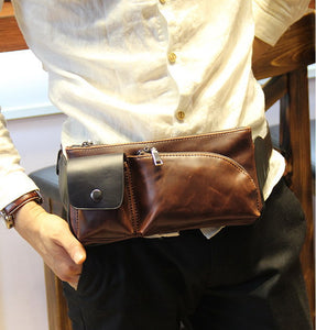 Mini Man Bag Black, Khaki Or Coffee - Aces23