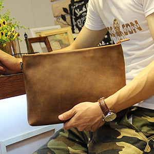 New Casual Envelope Clutch Light Coffee - Aces23