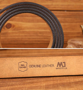 Genuine Leather Belt Brown - Aces23