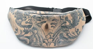 RUNNINGTIGER Bumbag Tattoo - Aces23