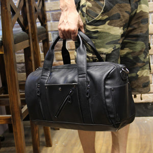 Leather Men's Travel Bags - Aces23