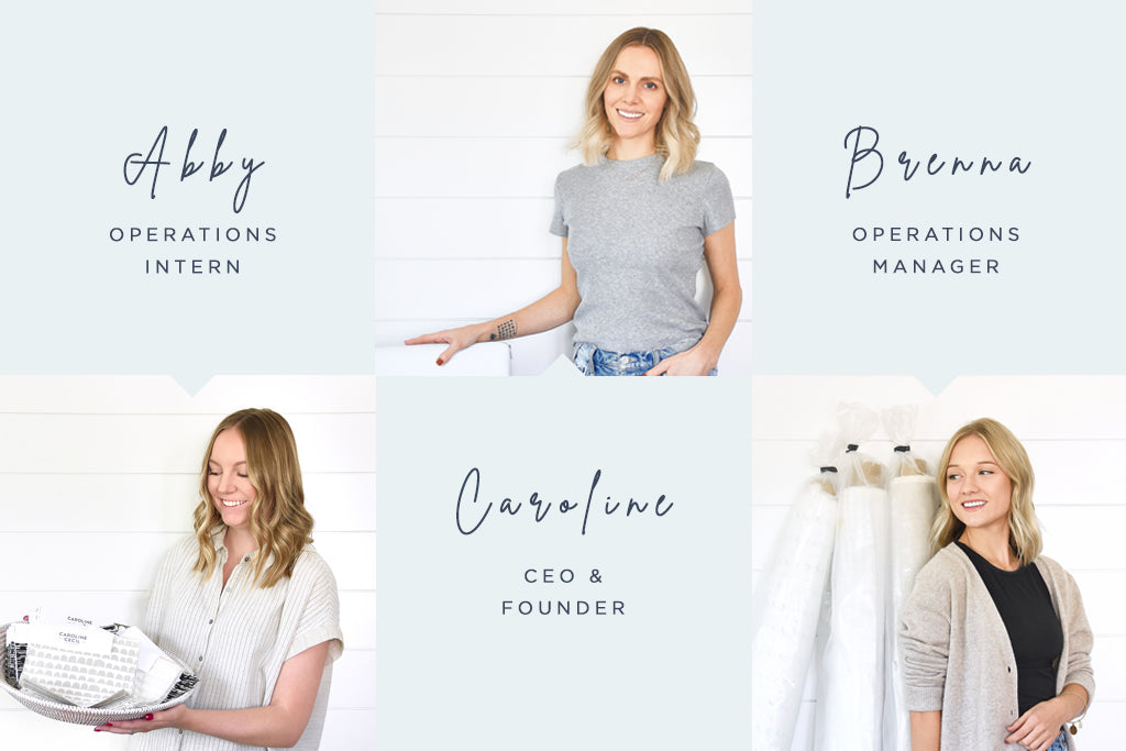 Meet the Caroline Cecil Textiles HQ Team