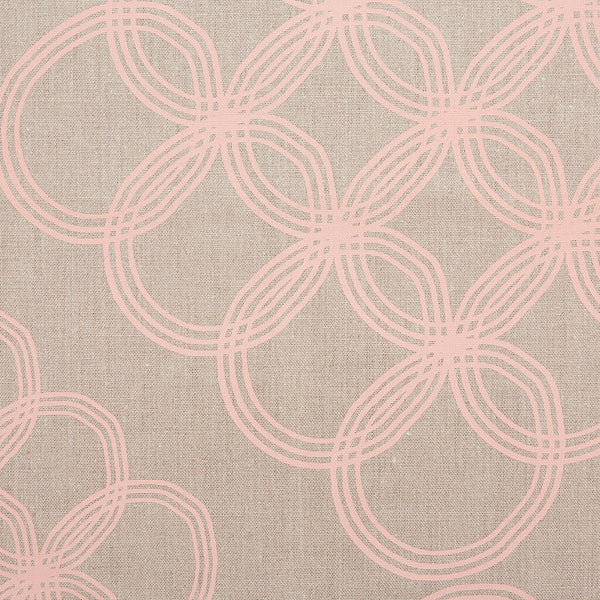 ARJA / COPPER PEACH / NATURAL FABRIC