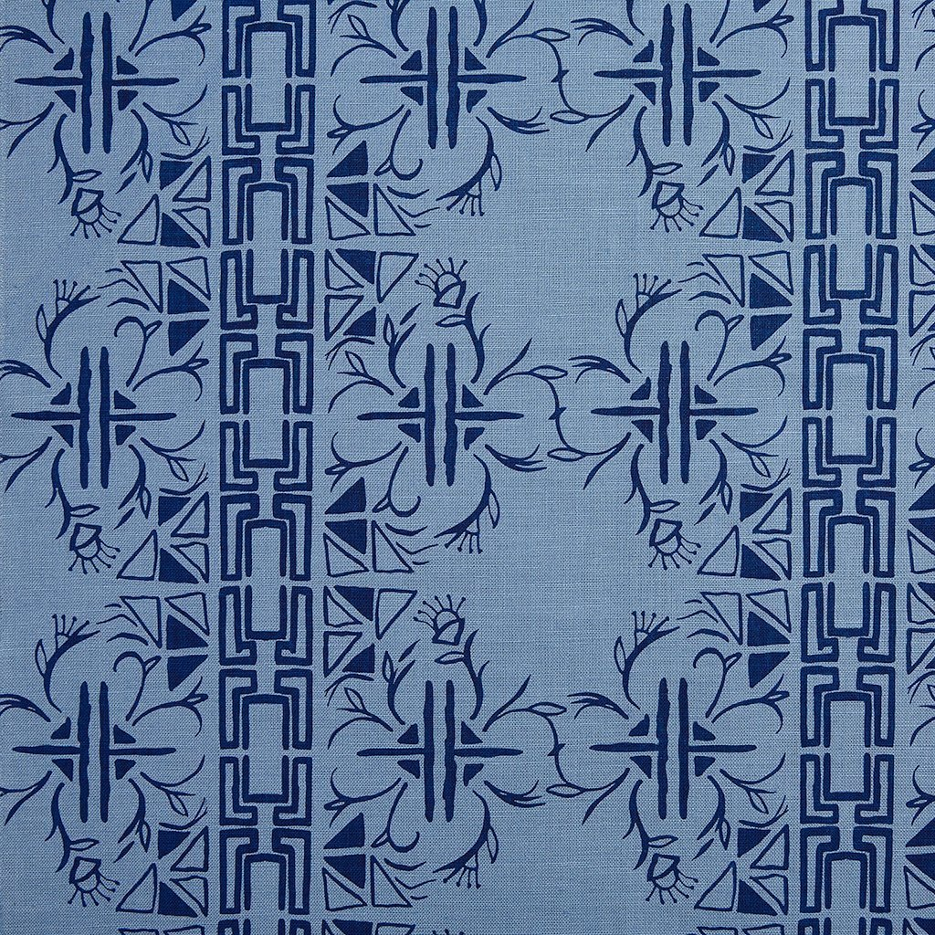 CERITA / NAVY / MONSOON FABRIC