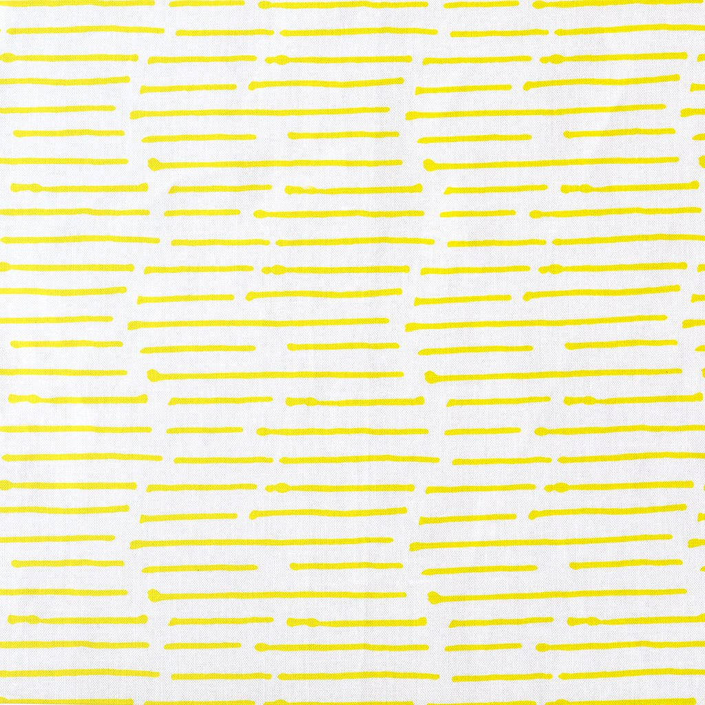 INK STRIPE / CHARTREUSE / OYSTER FABRIC