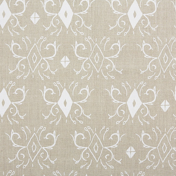 KADEK / WHITE / NATURAL FABRIC
