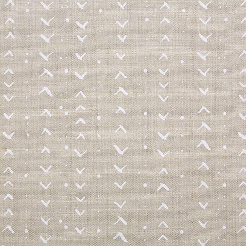 TITIK / WHITE / NATURAL FABRIC