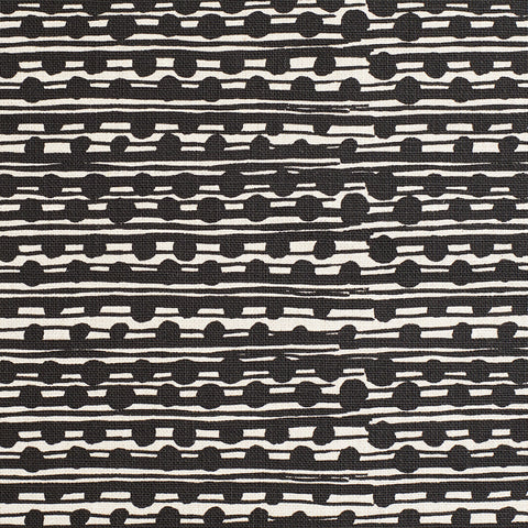 GAMAL / BLACK / NATURAL FABRIC