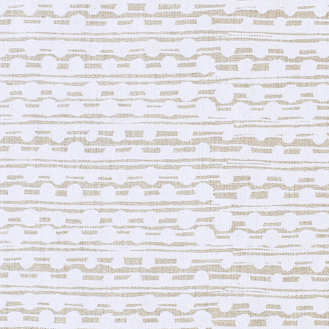 GAMAL / WHITE / NATURAL FABRIC
