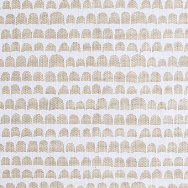 HANNU / WHITE / NATURAL FABRIC