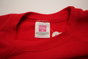 Worn-In Red Sweatshirt